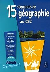 15 séquences de géographie au CE2 (Enseignant)