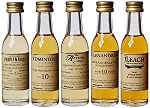 Whisky Tasting Company Sample Set Regions of Scotland (5 x 3cl)