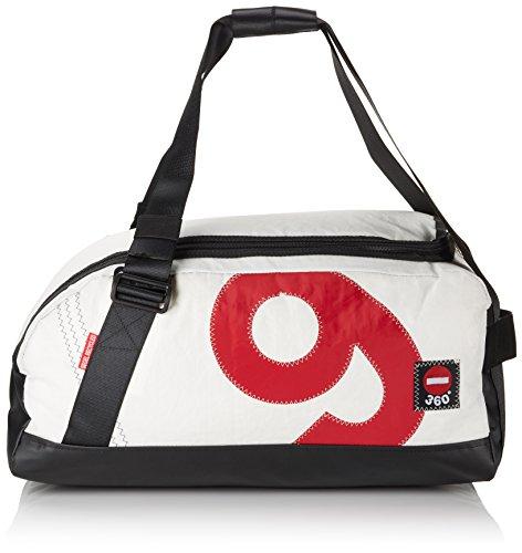 Preisvergleich Produktbild 360° Women Reisetasche Segeltuchtasche Container Zahl Weiß 50 centimeters