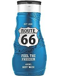 Route 66 Feel The Freedom Gel Douche 400 ml - Lot de 2