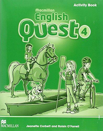 Macmillan English Quest Level 4 Activity Book por Roisin O'Farrell