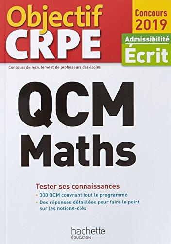 QCM Maths : Admissibilité écrit