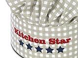 Kochmütze oder Küchenschürze & Topfhandschuh für Kinder – passend für Kinder im Alter von 3-6 Jahren - 3
