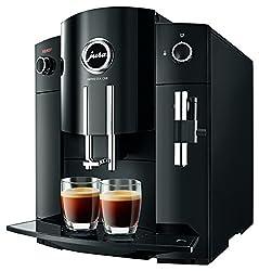 Jura Impressa C60-Kaffeevollautomat (freistehend, Schwarz, Kaffeebohnen, Kaffee, 15bar, vertikal)