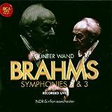 Symphonie n°2 en ré majeur, op 73 / Symphonie n°3 en fa majeur, op 90  (Live)