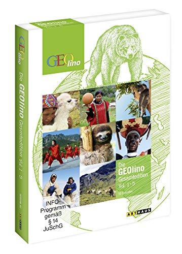 Die Geolino Gesamtedition, Vol. 1-5, 50 Episoden [5 DVDs]
