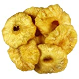 Sorich Organics Pineapple Rings - Unsulphured, Unsweetened and Naturally Dehydrated Fruits - 400