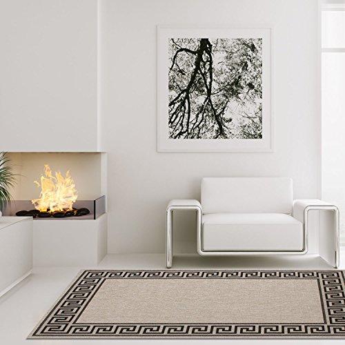 carpetcity Alfombra diseño Moderno salón Villa Sisal Meandro Vintage