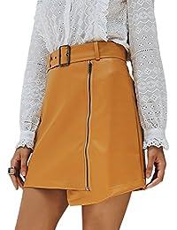 75ba3e9c2c83 Suchergebnis auf Amazon.de für: leder röcke - Gelb: Bekleidung