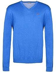 Napapijri Unidad V-cuello del suéter de los hombres suéter casual N0YCEK-B12