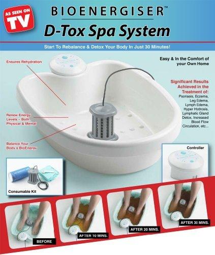 Bioenergiser Detox Spa Fußelektrolysebad, Classic edition - Detox-spa-system