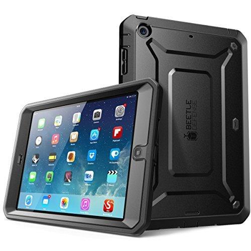 SUPCASE Apple iPad Mini 4 Hülle mit eingebautem Bildschirmschutz, Schwarz