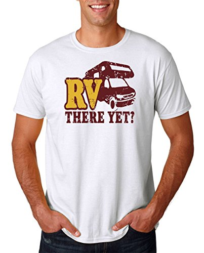 RV There Yet – Cool Motorhome – Mens T Shirt