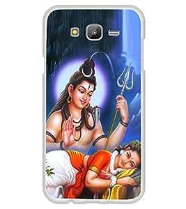 PrintVisa Designer Back Case Cover for Samsung Galaxy E5 (2015) :: Samsung Galaxy E5 Duos :: Samsung Galaxy E5 E500F E500H E500Hq E500M E500F/Ds E500H/Ds E500M/Ds (Lord Shiva and Parvathi Spiritual )