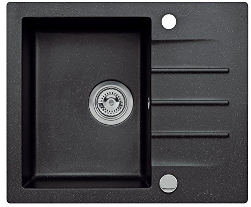 Axigran Küchen Spüle Mojito 80 Küchenspüle Spülbecken 60er Exzenter Siphon