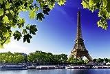 Paris Eiffelturm Stadt Seine City XXL Wandbild Foto Poster