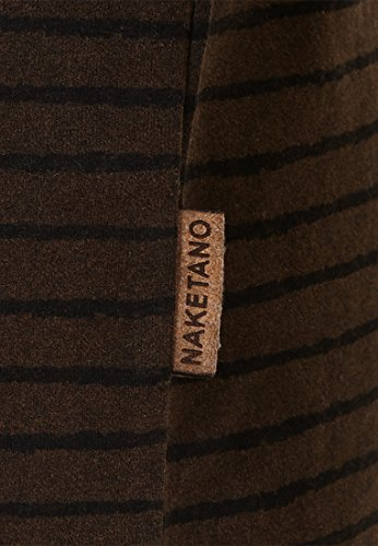 Naketano Male Sweatshirt Kommt Ein Dünnschiss III Heritage Black