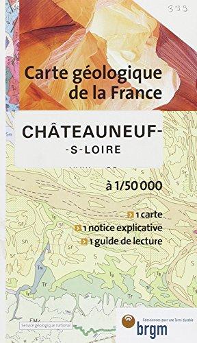 Carte géologique : Châteauneuf-sur-Loire