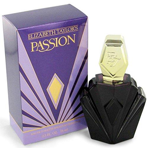 Elizabeth Taylor Passion Eau de Toilette Vaporizzatore - 74 ml