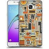 Head Case Designs New York Monuments Des Pays Étui Coque en Gel molle pour Samsung Galaxy A5 (2016)