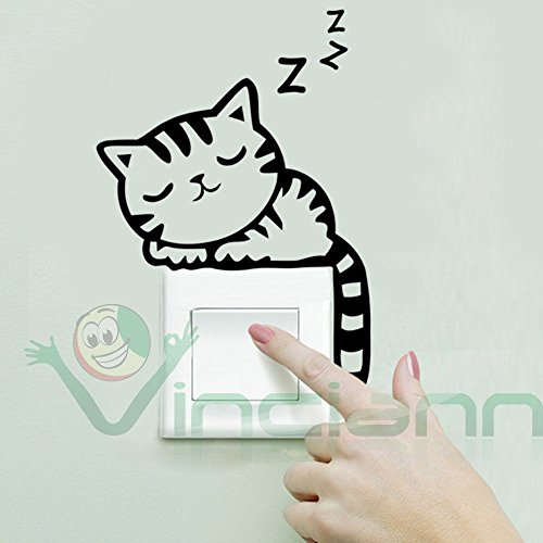 sticker-adesivo-sleeping-cat-decorazione-interruttore-luce-parete-cameretta-casa