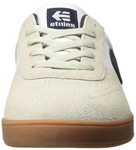 Etnies Herren Lo-cut Skateboardschuhe Bianco (bianco / Blu Marino / Gomma 153)
