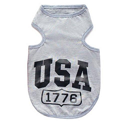 Kostüm Teacup Hunde Größe - smalllee _ Lucky _ store USA Cooles Jumper T-Shirt Hemd Weste Kleiner Hund Welpen Kleidung Hund Kostüm XS-XXL