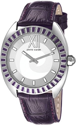 pierre-cardin-levant-fantaisie-reloj-analogico-de-cuarzo-para-mujer-correa-de-cuero-color-plata-plat