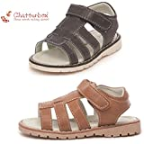 BOYS SANDALS SUMMER WALKING VELCRO CASUAL BEACH OPEN TOE SHOES BY CHATTERBOX