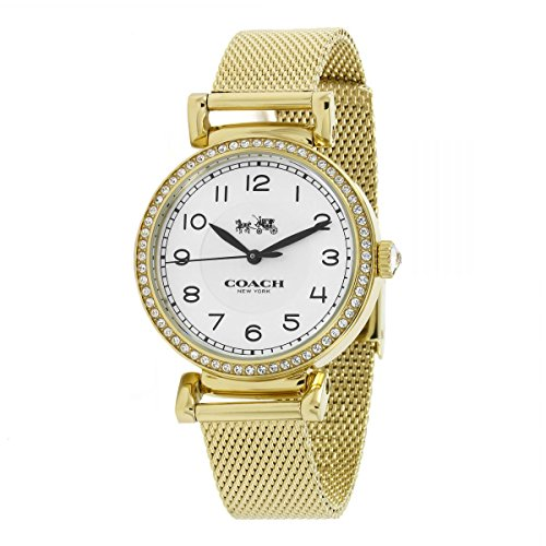 White Dial Ladies Analog Fashion Quartz Coach Watch Madison 14502652
