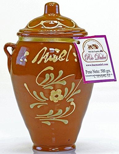 El Colmenar de Valderromero - La Orza de Valderromero - Miele millefiori ceramica stagionale selezionata La Alcarria 500 gr.