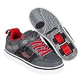 Heelys Bolt X2 Black/Grey/Red Size 12