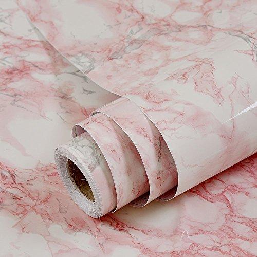 (Wasserdicht selbstklebend Marmor Kontakt Papier Regalen für Küche Schränke Duett Arbeitsfläche Wand Crafts Projekte (24von 297,2cm))