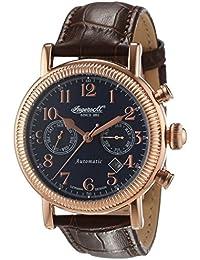 Ingersoll Herren-Armbanduhr Butterfield Chronograph Automatik Leder IN1828RBL