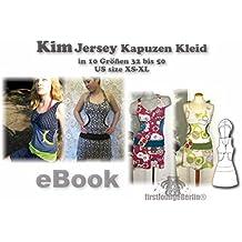Kim Nähanleitung mit Schnittmuster auf CD für Jerseykleid in Gr. 32-50 Kapuzen-Kleid