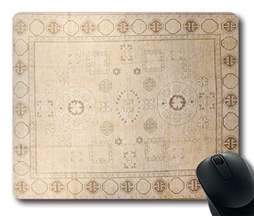 Preisvergleich Produktbild TOM Mousepad beige Teppich Stil 24cm durch 20cm Rechteck Form Mauspad natürlichen Eco Gummi Durable Computer Desk Stationery Zubehör Maus Pads für Geschenk t160617061