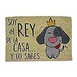 koko doormats Felpudo Coco-Rey de La Casa Perro, 60x40