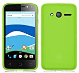 TBOC® Grün Gel TPU Hülle für Alcatel Pixi 4 (4) (4.0