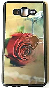 Generic Back cover DIR4045 for Samsung Galaxy ON7 (3D Rose Design)
