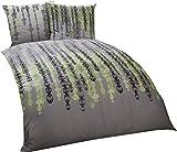 Kaeppel Biber Bettwäsche Pearls Kiwi 135x200 cm + 80x80 cm