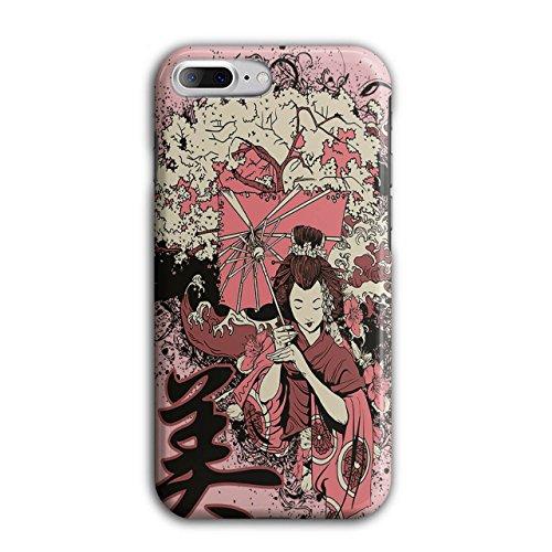 Geisha Sakura Kunst Fantasie Kostüm Perücke iPhone 8 Plus Hülle   Wellcoda