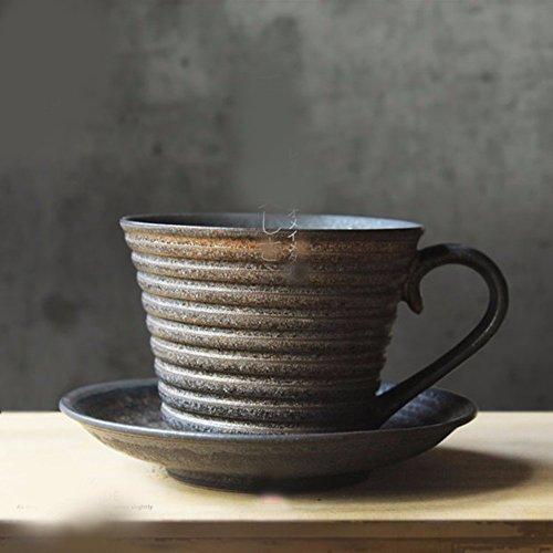 QPSSP Tasse Kaffee Außen Mund - Europäische Klassiker Japanischen Tee Tasse Kaffee Handabdruck Charakter,B (Handabdruck Tee)