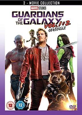 Guardians of the Galaxy & Guardians of the Galaxy Vol. 2 Doublepack [DVD] [2017]
