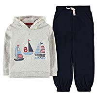 Crafted OTH Hoody Set Infant Boys  The Crafted OTH Hoody Set is designed with a jersey constructed hoody that features long sleeves, lined hood and ribbed cuffs and wrist cuffs. A large nautical themed motif is situated on the front of the f...