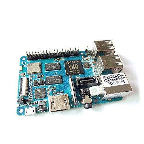 Banana Pi BPI M2 Baie Double cœur GPU Mali 400 MP2 1G LPDDR3 en Source Ouverte et de la même Taille Que Raspberry Pi 3 & Arm Cortex Core Quadri-cœur à 1,2 GHz