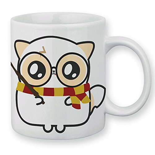 Mug Pouny Pouny Harry Potter Gryffondor Quidditch chibi et kawaii - Fabriqué en France - Licence officielle Pouny Pouny - Chamalow shop