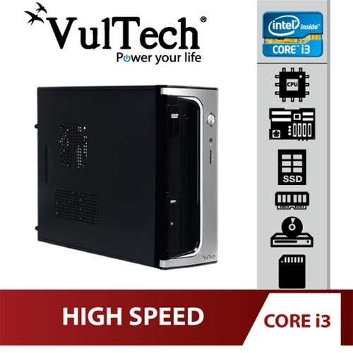 Pc Desktop Micro Vultech Core i3-3220 8Gb SSD...