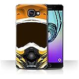Coque de Stuff4 / Coque pour Samsung Galaxy A5 (2016) / Motocross/Orange Design / Casque Moto Collection