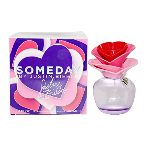 Justin Bieber Someday femme/women, Eau de Parfum, Vaporisateur/Spray 100 ml, 1er Pack (1 x 100 ml)