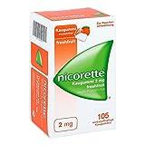 Nicorette - Gomme da masticare alla nicotina, 2 mg, 105 pz, gusto frutti misti